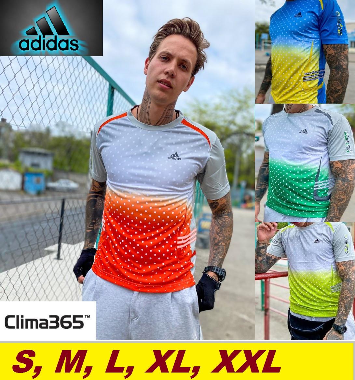 Футболка Адидас летняя мужская - Adidas Clima 365