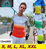 Футболка Адидас летняя мужская - Adidas Clima 365, фото 1