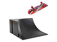 Пальчиковый скейтборд и трамплин Tech Deck F  Черный