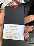 Черная классическая кожаная куртка Турция, фото 6
