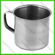 Кружка из нержавеющей стали № 7_V0,150л. (D7см H6,3см)