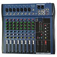 Аудио микшер, dj пульт Yamaha 8USB/ CT8 8 канальный