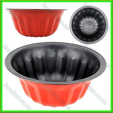 Форма для кекса глубокая D23,5см h10см, фото 2