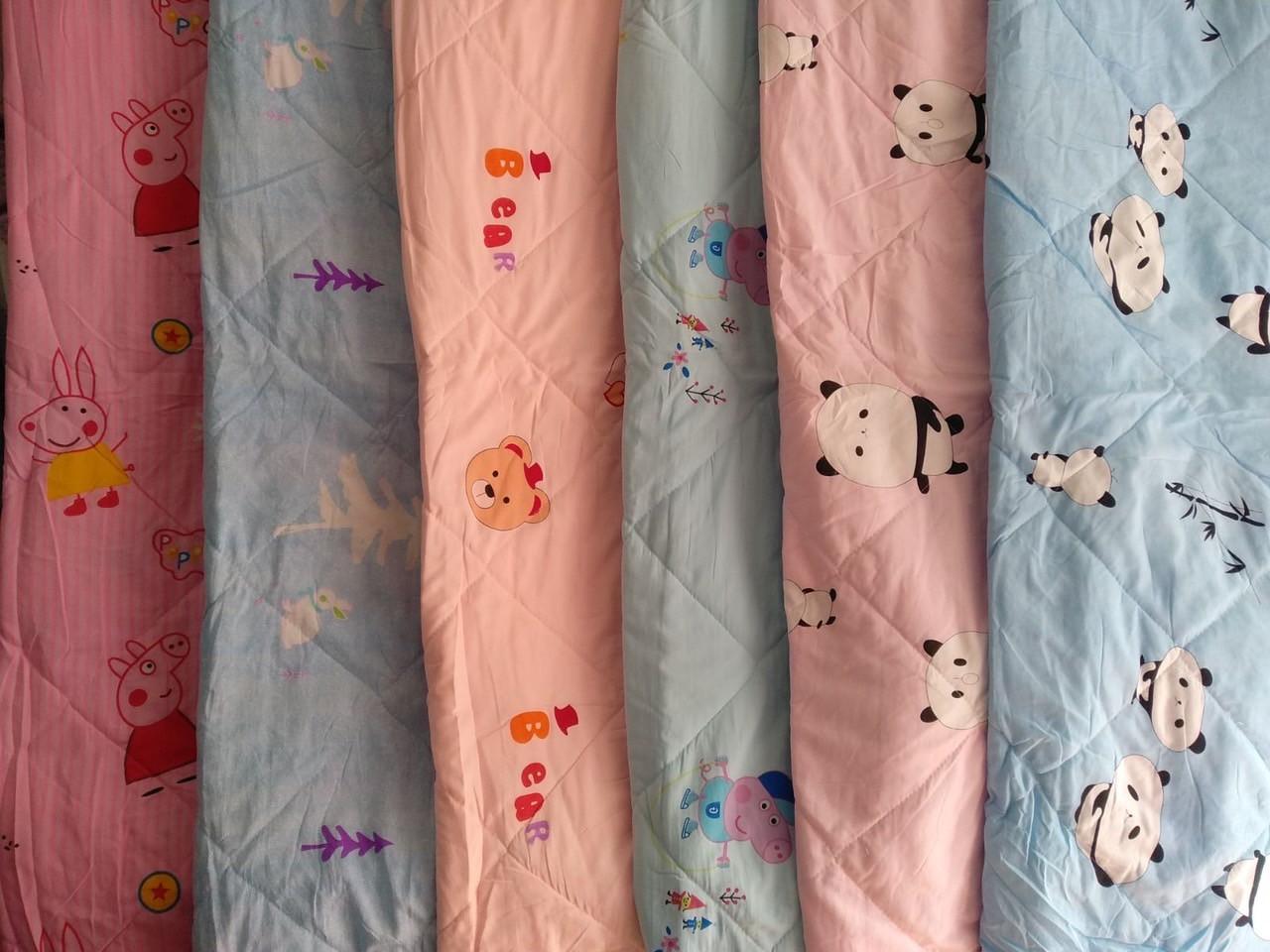 Летнее стеганное детское одеялко 110*140
