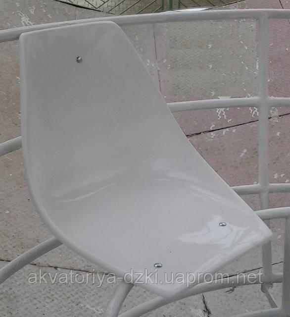 Сидіння склопластикове для стадіонів, залів очікування, катамаранів