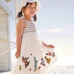 Сарафан для девочки Весенний букет Little Maven (2 года)