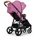 Детская прогулочная коляска ME 1024 X4 Plum розовая, фото 5