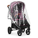 Детская прогулочная коляска ME 1024 X4 Plum розовая, фото 6