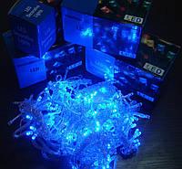 """Гирлянда светодиодная """"Нить"""" L160 голубая."""