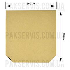 Коробка для пиццы 300х300х35 бурая 1/50