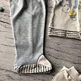 Крестильный костюм, набор на выписку для мальчика Miniworld 6. Размер 62 см (1-3 мес), фото 3