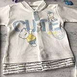 Крестильный костюм, набор на выписку для мальчика Miniworld 6. Размер 62 см (1-3 мес), фото 5