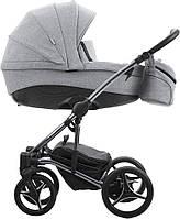 Коляска 2в1 Bebetto Tito Premium Dark 02 2020