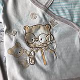 Крестильный костюм, набор на выписку для мальчика Miniworld 8. Размер 62 см (1-3 мес), фото 3