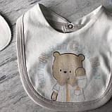 Крестильный костюм, набор на выписку для мальчика Miniworld 8. Размер 62 см (1-3 мес), фото 4