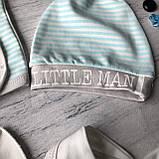 Крестильный костюм, набор на выписку для мальчика Miniworld 8. Размер 62 см (1-3 мес), фото 5