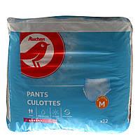 Подгузники-трусы для взрослых Auchan M  12 шт.