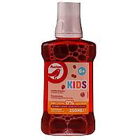 Средство для полоскания рта Auchan Kids Лесная Ягода  от 6 лет  250 мл