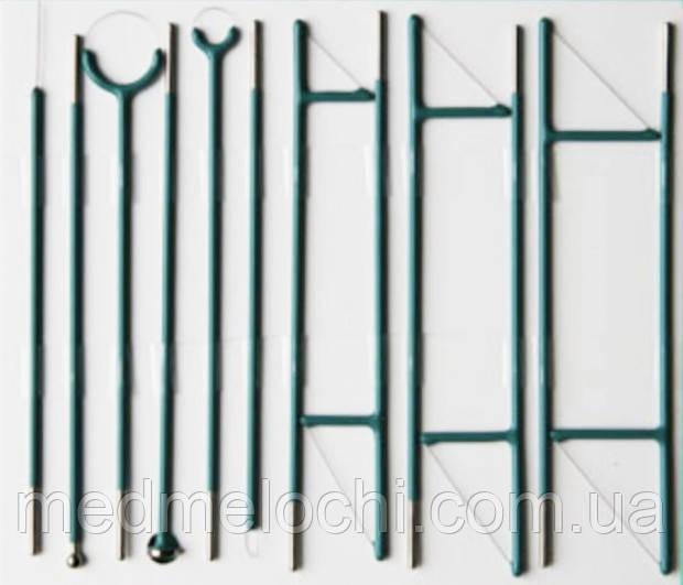 Комплект гінекологічний (дванадцять электродів, товщіна нитки 0,35 мм)