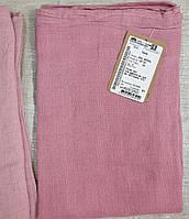 """Легкий льняной платок """"пыльного"""" розового цвета, фото 1"""