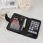 Кожанный чехол-кошелек для iPhone 5