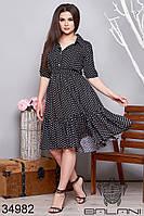 Женское летнее платье 50-52,54-56
