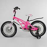 Велосипед CORSO MG-18W814 18 дюймов (магниевая рама, дисковые тормоза), фото 2