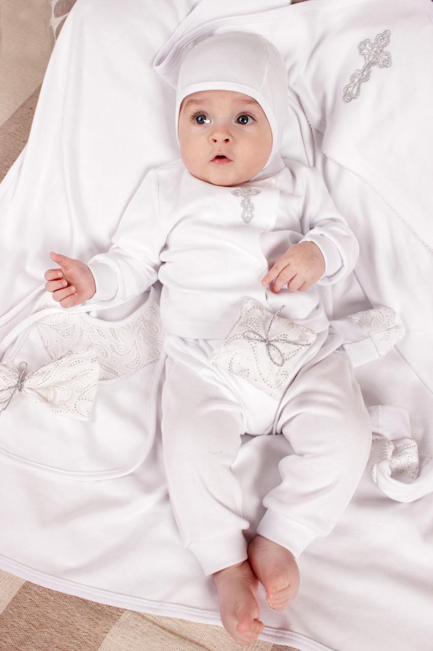 """Крестильный набор для новорожденного из хлопка - Интернет-магазин одежды и товаров для дома """"Стиль-текстиль"""" в Киеве"""