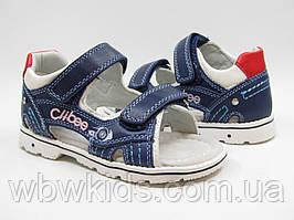 Остання пара! Босоніжки Clibee AB-22 сині для хлопчика 32 розмір