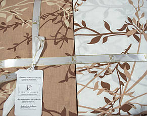 Комплект постельного белья First Choice Ранфорс 200x220 Zena ekru, фото 2