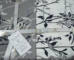 Комплект постельного белья First Choice Ранфорс 200x220 Zena gri, фото 2