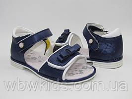 Босоніжки Clibee сині Z-227 для дівчинки