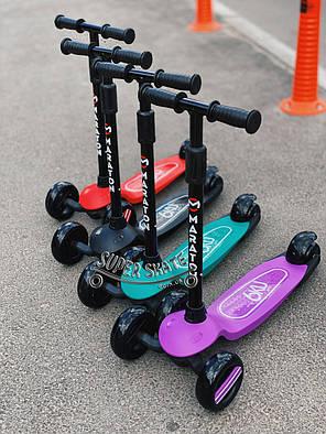 Детский Самокат со светящимися колесами SMART MINI, фото 2