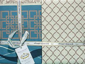 Комплект постельного белья First Choice Ранфорс 200x220 Neron Vizon, фото 2