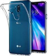 Прозрачный силиконовый чехол Premium для LG G7 ThinQ