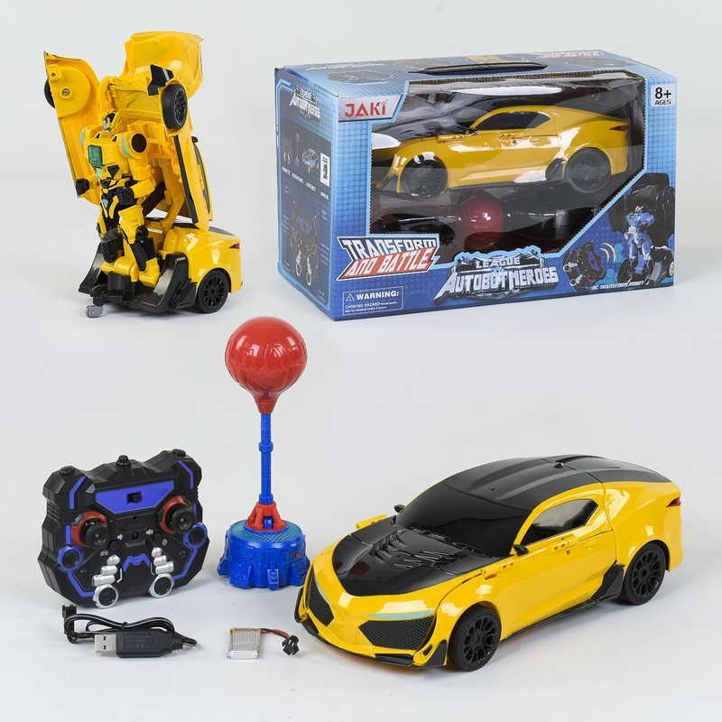 Машина-трансформер на радіокеруванні TT 687 (12) Автобот-боксер, акумулятор 3.7 V, світло, звук, в коробці