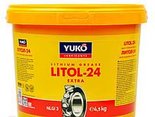 Смазка Литол-24 (4.5кг) YUKO