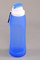 Складная силиконовая бутылка для воды 500 мл. Оптом и в розницу, фото 1