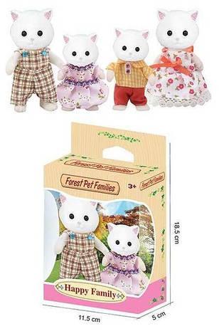 Набор флоксовых животных 20045 (192/2) 2 вида по 2 персонажа, в коробке, фото 2