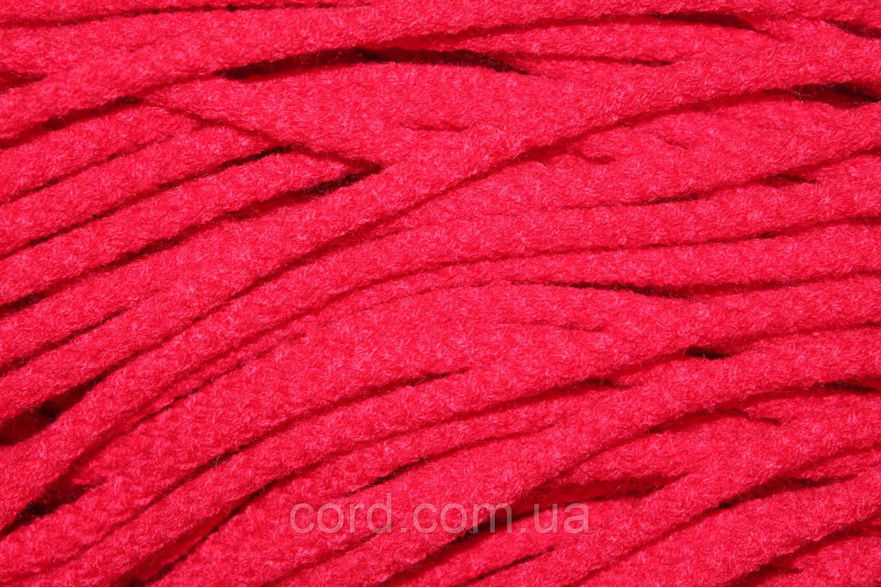Шнур круглый 6мм акрил 100м красный