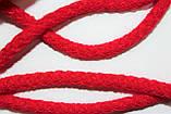 Шнур круглый 6мм акрил 100м красный, фото 2