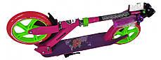 Самокат двухколесный для детей Amigo Sport - Prime  - Розовый, фото 2