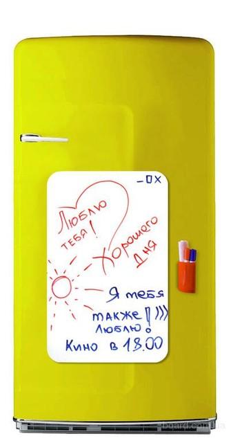 Магнитная доска на холодильник для маркера 30х45 см