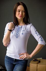 Жіночі трикотажні вишиванки