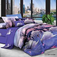 Евро постельное белье полиСАТИН 3D (поликоттон) 851986