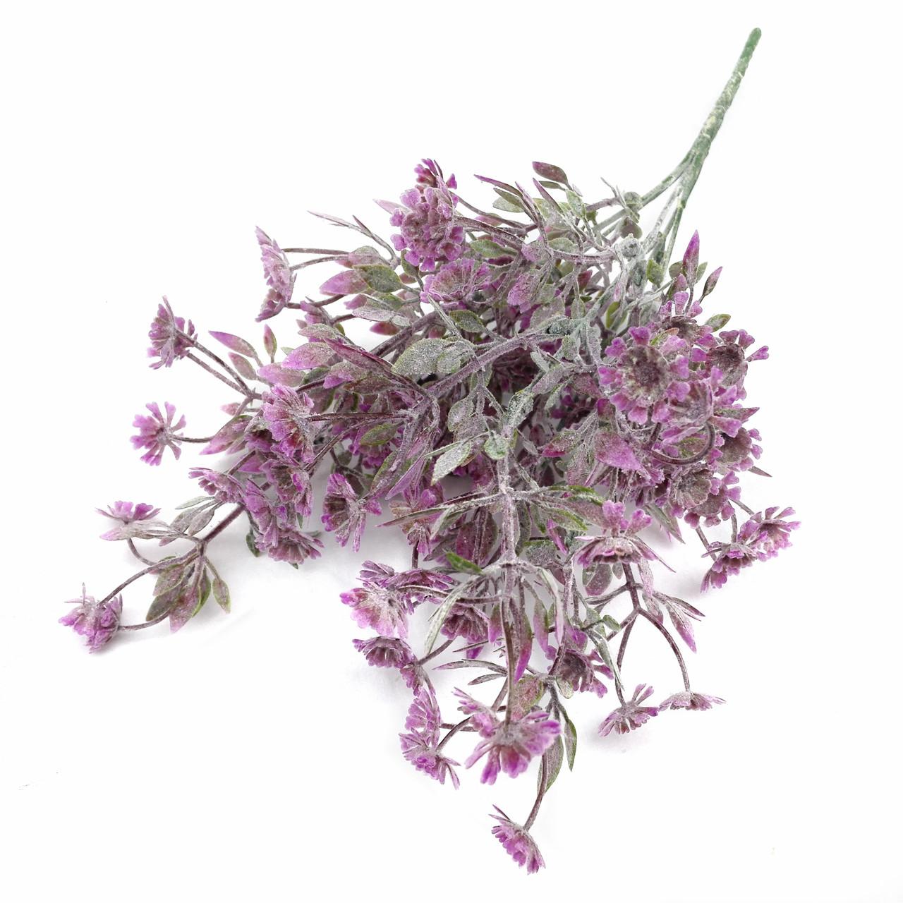 Букет Ромашек пепельных. фиолетовый 30 см.