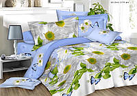 Полуторное постельное белье полиСАТИН 3D (поликоттон)851199
