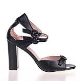 Модные удобные  женские Босоножки  Summergirl D322A BLACK KOGA ЛЕТО 2020 /// 95615-1 black л, фото 2