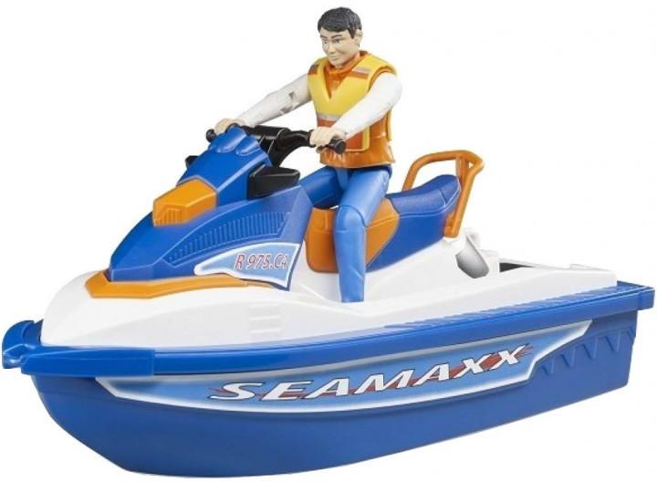 Bruder Игровой набор водный транспорт с водителем, 63150
