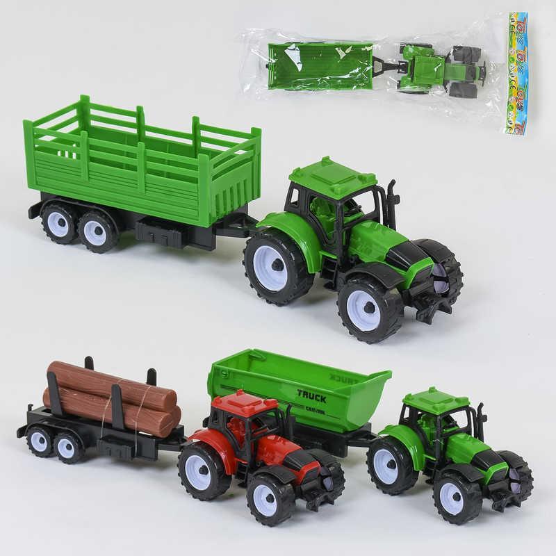 Трактор 669-31 /669-33/669-35 (180/2) 3 вида, инерция, 1шт в кульке